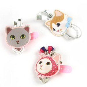 [韓国雑貨]ネコ好きさんのための Bon bon winder《選べる2つセット》[韓国 お土産][可愛い][かわいい]|seoul4