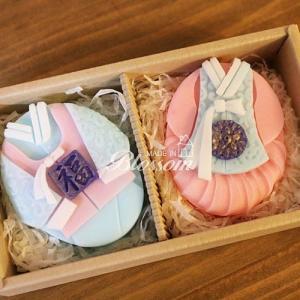 [韓国雑貨]韓服が美しい 天然ソープ《2タイプセット》[韓国 お土産][可愛い][かわいい][文房具][文具]|seoul4