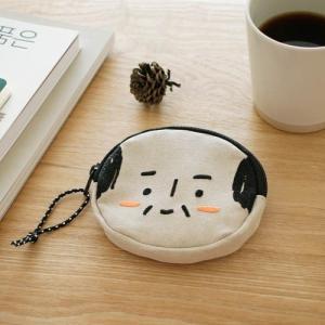 [韓国雑貨] =SSBA= 可愛いアジャシのミニポーチ [輸入雑貨] [文房具] [文具] [かわいい]|seoul4