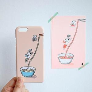 [韓国雑貨]-SSBA- アジャシのアイフォンカバー iPhone6s/6s+/7/7+≪選べる6タイプ≫[韓国 お土産][可愛い][かわいい][文房具][文具]|seoul4|03
