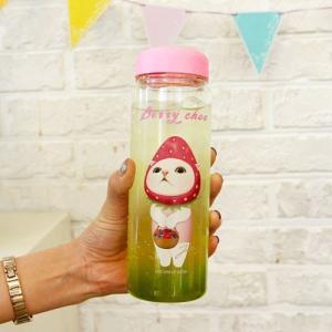[韓国雑貨] [JETOY]ネコ好きさんのためのマイボトル choo choo Bottle [かわいい]|seoul4|02