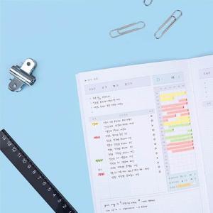 [韓国雑貨]超ド短期型!1ヶ月のお勉強計画に study planner《選べる2冊セット》[スタディープランナー][通販][かわいい][文房具][文具]tbt|seoul4|02