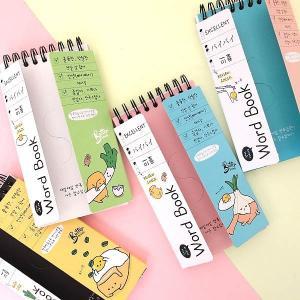 [韓国雑貨]脱力バターさんの単語帳《ランダム3冊セット》[輸入雑貨] [かわいい]|seoul4