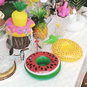 [韓国雑貨]これぞ夏!って気分に盛り上がる!! リゾート気分なドリンク浮き輪 (選べる2つセット)[韓国 雑貨] [かわいい] [アジアン雑貨]|seoul4