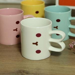 [韓国雑貨]これぞ韓国ファンシーな ウサギのマグカップ《選べる2cupセット》[文房具]|seoul4