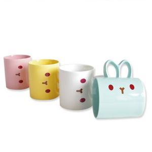 [韓国雑貨]これぞ韓国ファンシーな ウサギのマグカップ《選べる2cupセット》[文房具]|seoul4|02