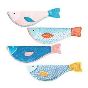 [韓国雑貨]個性的な筆箱をお探し? swimming fish pencilcase [選べる3本セット] [輸入雑貨] [かわいい] [文房具] [文具]|seoul4