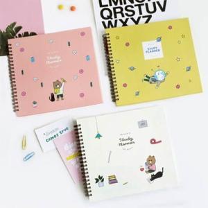 [韓国雑貨]落書き帳のように楽しくPOPな スタディープランナー [スケジュール帳] [手帳] [文房具] [かわいい]|seoul4