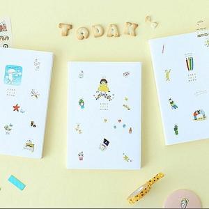 [韓国雑貨] 落書きのような可愛さ todac todac weekly Diary≪2018年韓国暦≫ [ダイアリー] [文房具] [文具]|seoul4