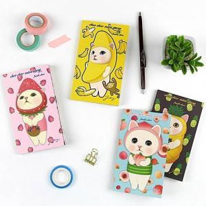 [韓国雑貨]Choo choo mini diary_fruits choo[スタディープランナー][韓国 お土産][可愛い][かわいい][スケジュール帳]|seoul4