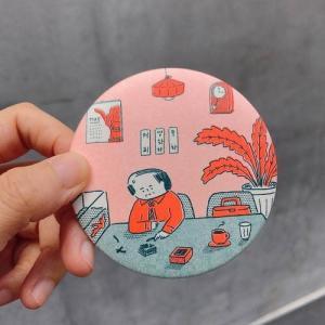 [韓国雑貨]-SSBA- アジャシと身だしなみチェック ハンドミラー(2種セット)[韓国 お土産][可愛い][かわいい][文房具][文具]|seoul4|04