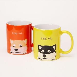 [韓国雑貨]ワンコ好きさんのための ハングル台詞のマグカップセット《2つセット》[文房具]|seoul4|02
