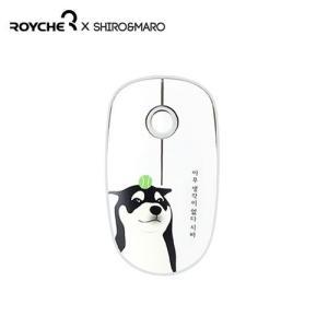 [韓国雑貨]ワンコ好きさんのための ハングルが入った柴犬ワンコのマウス[輸入雑貨][ハングル][シロ&マロ] seoul4 05