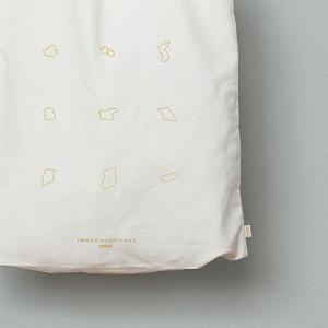 [韓国雑貨]-思い出の地を- 韓国の地形 エコバッグ[韓国 お土産][可愛い][かわいい][文房具][文具]|seoul4|03