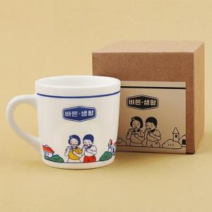 [韓国雑貨]どこか懐かしい 韓国レトロなマグカップ ≪ver.2≫[文房具][かわいい][ハングル][オシャレ]|seoul4