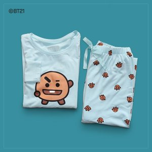 =BT21公式グッズ=[バンタン][BTS]Tシャツ パジャマ ≪SHOOKY≫[防弾少年団][可愛い][かわいい][韓国雑貨][韓国 お土産]|seoul4