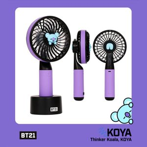 [韓国雑貨]=BT21公式グッズ= HANDY FAN <KOYA>  (BT21 ハンディー扇風機) [防弾少年団][かわいい][BTS]|seoul4