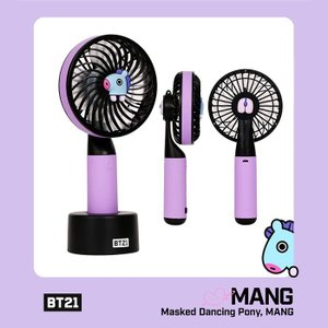 [韓国雑貨]=BT21公式グッズ= HANDY FAN <MANG>  (BT21 ハンディー扇風機) [防弾少年団][かわいい][BTS]|seoul4