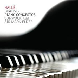 キム・ソンウク / JOHANNES BRAHMS - PIANO CONCERTOS / SUNWOOK KIM, MARK ELDER [クラシック][韓国 CD]|seoul4