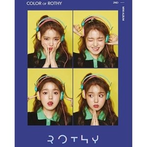 ROTHY / COLOR OF ROTHY (2ND ミニアルバム)[韓国 CD](予約販売)|seoul4