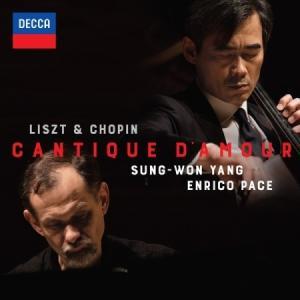 (予約販売)ヤン・ソンウォン、ENRICO PACE /  LISZT & CHOPIN - CANTIQUE D'AMOUR [2CD+1DVD][クラシック][韓国 CD]|seoul4