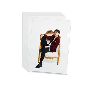 SEVENTEEN(セブンティーン) 公式クリアファイル White / Pink(選べる2冊セット)[official goods]|seoul4|02