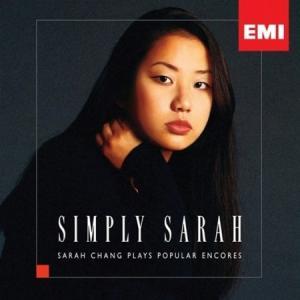 チャン・ヨンジュ (サラ・チャン) /  SIMPLY SARAH - POPULAR ENCORES[クラシック][韓国 CD](予約販売)|seoul4