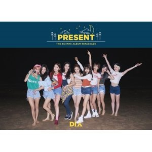 DIA / PRESENT (3RD MINI ALBUM REPACKAGE)(GOOD NIGHT VER)[DIA][韓国 CD]|seoul4