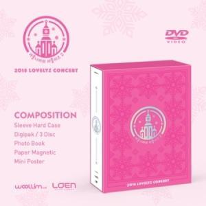 LOVELYZ / DVD (3disc) 2018 LOVELYZ CONCERT[冬の国のラブリーズ2] seoul4