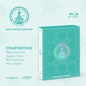 LOVELYZ / BLU-RAY (2disc) 2018 LOVELYZ CONCERT[冬の国のラブリーズ2] seoul4
