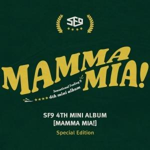 SF9 / MAMMA MIA! (4TH  MINI ALBUM) SPECIAL EDITION [SF9][CD]