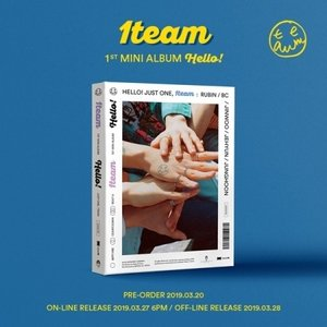 (予約販売)1TEAM / HELLO! (1ST MINI ALBUM)[1TEAM][韓国 CD]|seoul4