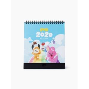 =BT21公式グッズ=[バンタン][BTS]2020年 卓上カレンダー(韓国歴)[防弾少年団][韓国文房具][可愛い][韓国雑貨]
