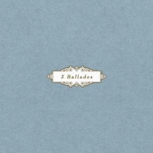 BLUISH NOCTURNE / 3 BALLADES(SINGLE ALBUM)[BLUISH NOCTURNE][韓国 CD]|seoul4