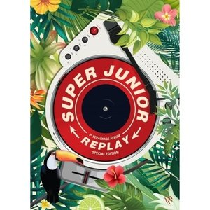 SUPER JUNIOR / REPLAY(8集 REPACKAGE) SPECIAL EDITION[SUPER JUNIOR][CD]