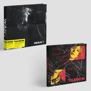 テミン (SHINee) / WANT (2ND ミニアルバム) (Want ver. / More verから1種ランダム発送)[韓国 CD]|seoul4