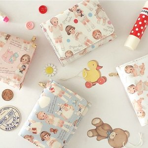 [韓国雑貨]=paper doll mate= 乙女なアナタの小さなお財布 Mini wallet[韓国文房具][可愛い][かわいい][韓国 お土産]|seoul4