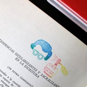 [韓国雑貨]何に使うのか理解しづらい けどオシャレっぽいシュールスタンプセット《選べる2つセット》[ハングル スタンプ]|seoul4|03