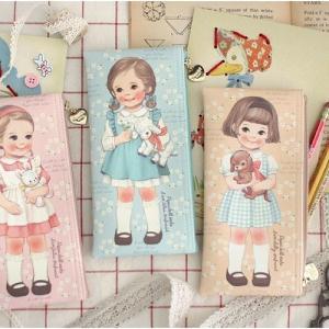 [韓国雑貨]=paper doll mate= 乙女なアナタへ 薄型ポーチのpencase[韓国 お土産][可愛い][かわいい][文房具][文具]|seoul4|03