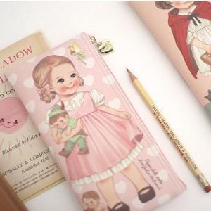 [韓国雑貨]=paper doll mate= 乙女なアナタへ 薄型ポーチのpencase[韓国 お土産][可愛い][かわいい][文房具][文具]|seoul4|04