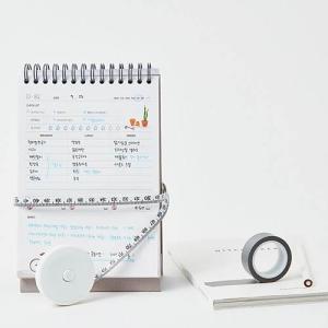 [韓国雑貨]ダイエットの管理をしながらハングル勉強も! 卓上用100日ダイエット プランナー[スケジュール帳]|seoul4