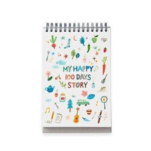 [韓国雑貨]ダイエットの管理をしながらハングル勉強も! 卓上用100日ダイエット プランナー[スケジュール帳]|seoul4|03