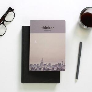 [韓国雑貨]昨日の考えが今日のあなたを作る Thinker study project planner[スタディープランナー][かわいい][文房具][文具][スケジュール帳]|seoul4