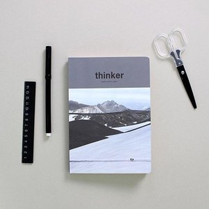 [韓国雑貨]昨日の考えが今日のあなたを作る Thinker study project planner[スタディープランナー][かわいい][文房具][文具][スケジュール帳] seoul4 02