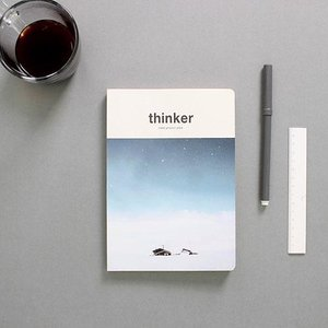 [韓国雑貨]昨日の考えが今日のあなたを作る Thinker study project planner[スタディープランナー][かわいい][文房具][文具][スケジュール帳] seoul4 04