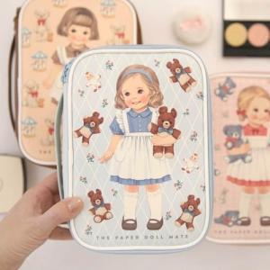[韓国雑貨]=paper doll mate= Better beauty pouch M[輸入雑貨] [文房具] [文具] [かわいい]|seoul4