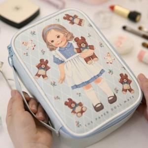 [韓国雑貨]=paper doll mate= Better beauty pouch M[韓国 お土産][可愛い][かわいい][文房具][文具]|seoul4|02