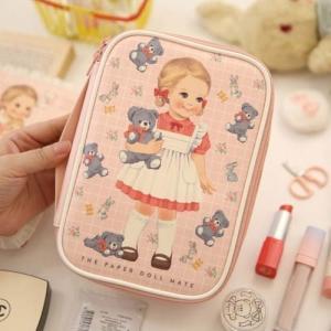 [韓国雑貨]=paper doll mate= Better beauty pouch M[韓国 お土産][可愛い][かわいい][文房具][文具]|seoul4|04