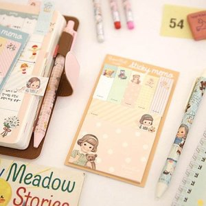[韓国雑貨]=paper doll mate= Sticky memo《選べる3冊セット》[韓国 お土産][可愛い][かわいい][文房具][文具]|seoul4|02
