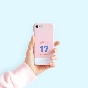 [韓国雑貨]背番号とお名前 スポーティーなオーダーメイドのスマホケース《iPhone/Galaxy》[名入れ][名前][文房具]|seoul4|02